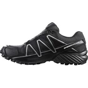 Salomon Speedcross 4 GTX Zapatillas Hombre, black/black/silver metallic-x
